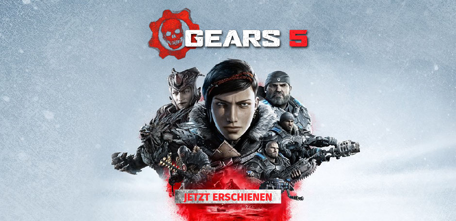 Gears 5 Out Now