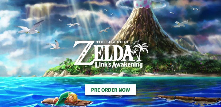 Zelda Pre-order
