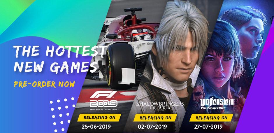 Upcoming games june 2019