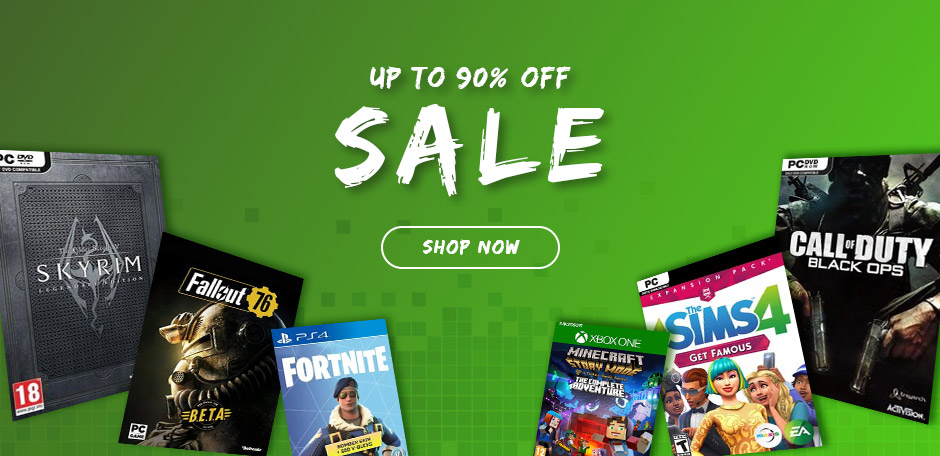 Get up to 90% off best selling video games | CDKeys com