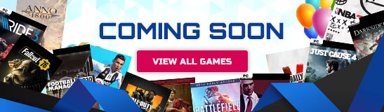 Coming Soon PC Games
